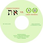 Hebrew Thinking vs. Greek Thinking Teaching CD