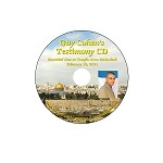 Guy Cohen Testimony CD- Recorded at Temple Aron HaKodesh