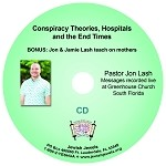 Conspiracy Theories, Hospitals and the End Times CD
